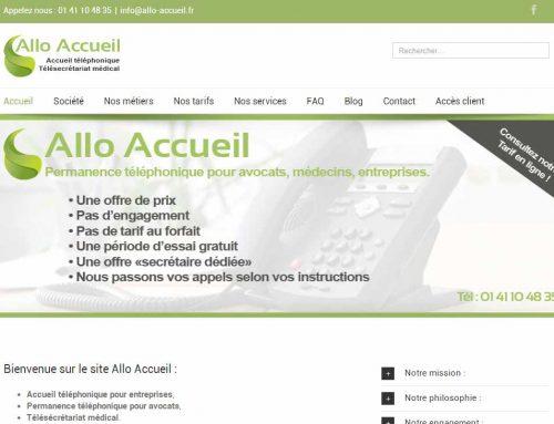 Nouvelle Version du site : www.Allo-acccueil.fr